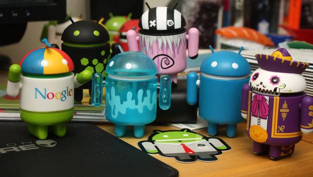 "Android läuft auf 86 Prozent aller Smartphones (Bild: flickr.com/Family O""Abé)"