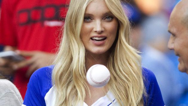 ... und Model-Engel Elsa Hosk ... (Bild: AP)