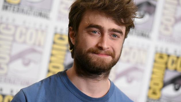 """Dass der Künstler Humor besitzt, beweist er mit diesem Mix. """"Harry Potter"""" Daniel Radcliffe ... (Bild: Richard Shotwell/Invision/AP)"""
