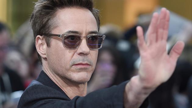 """Superhelden potenziert: """"Iron Man"""" Robert Downey Jr. bekommt """"Verstärkung"""" durch ... (Bild: APA/EPA/FACUNDO ARRIZABALAGA)"""