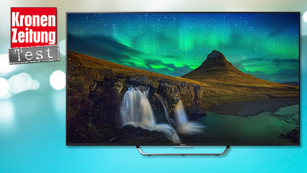Sonys superscharfer Android-4K-Fernseher im Test (Bild: Sony, thinkstockphotos.de)