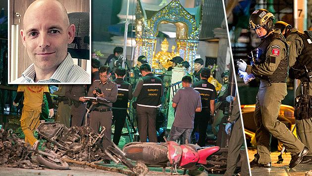 Mark Pedevilla berichtet aus Bangkok. (Bild: ORF.at, AP)