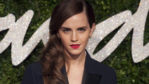 Richtig! Man verleiht ihr Gesichtszüge von Emma Watson. (Bild: APA/EPA/WILL OLIVER)