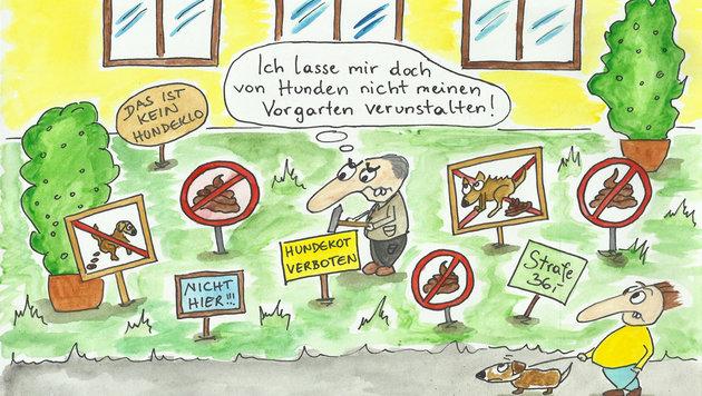"""""""11 Zahlen zu Hund und Katz (Bild: Elisabeth Semrad)"""""""