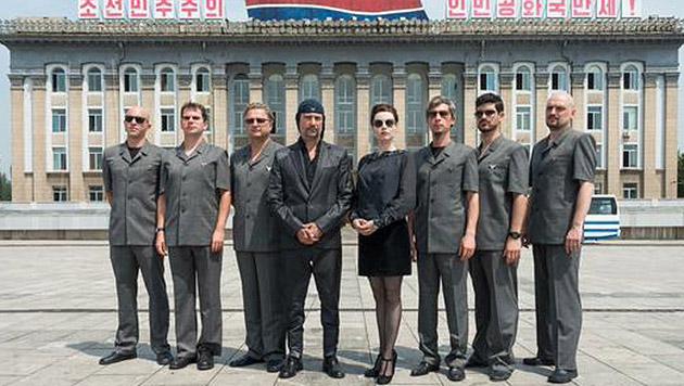 Kult-Band Laibach trat in Nordkorea auf (Bild: Twitter.com/hashtag/laibach)