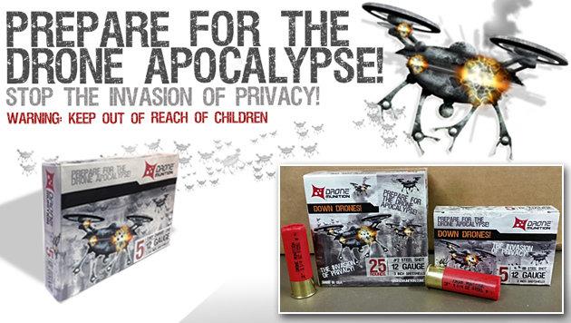 US-Hersteller stellt Drohnen-Munition vor (Bild: Snake River Shooting Products)