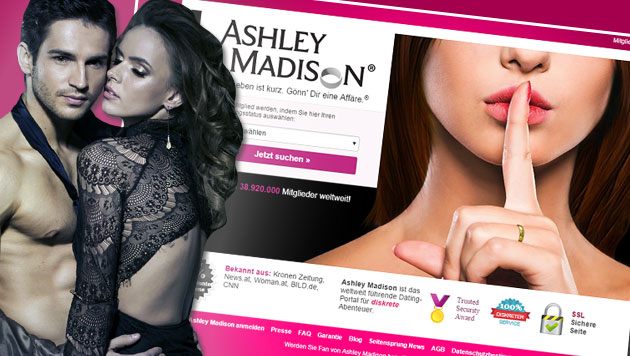 Ashley-Madison-Hack: Betreiber zahlt Millionen (Bild: ashleymadison.com, thinkstockphotos.de)