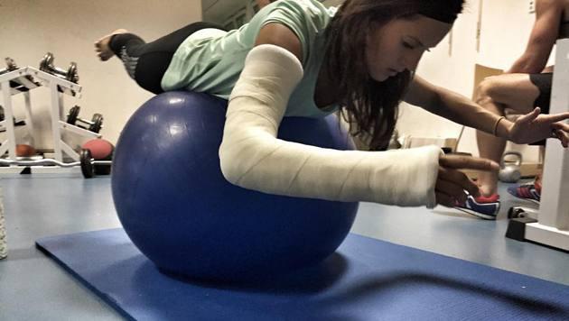 Dujmovits: Verletzung schlimmer als befürchtet (Bild: facebook.com)