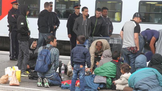 Falscher Syrer am Wiener Westbahnhof (Bild: Andi Schiel)