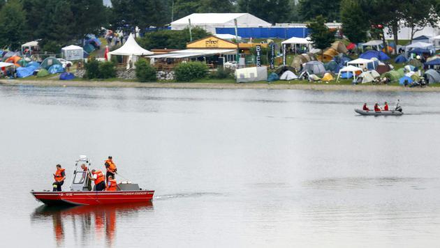 Lake Festival: Steirer (17) tot in See gefunden (Bild: APA/ERWIN SCHERIAU)