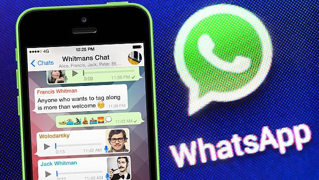 WhatsApp im Browser jetzt auch für iPhone-Nutzer (Bild: APA/dpa-Zentralbild/Jens Kalaene, WhatsApp, krone.at-Grafik)