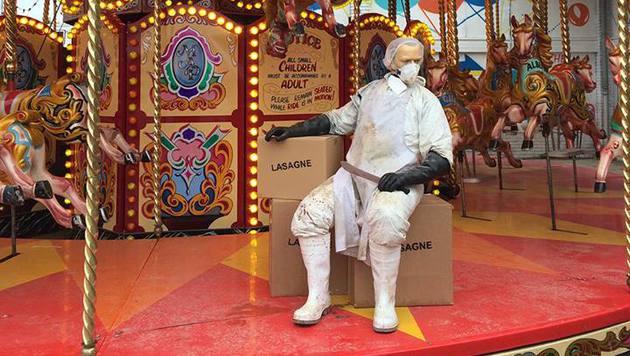 "Trostlos- statt Disneyland: Banksys ""Dismaland"" (Bild: facebook.com/Dismaland)"