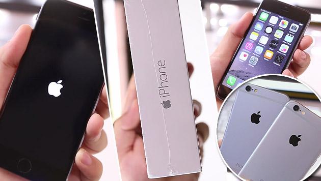 iPhone 6S: Bereits über 13 Mio. Exemplare verkauft (Bild: YouTube.com)