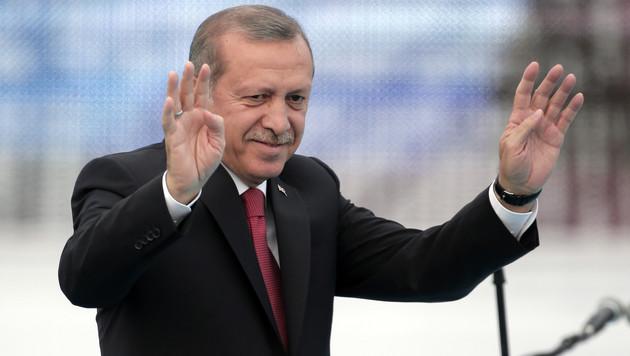 Der türkische Staatschef Recep Tayyip Erdogan (Bild: AP)
