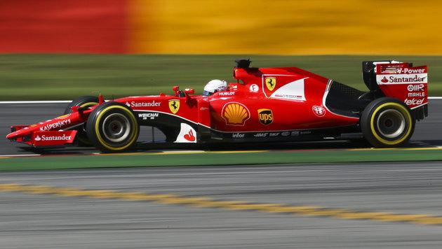 Sebastian Vettel (Bild: APA/EPA/OLIVIER HOSLET)
