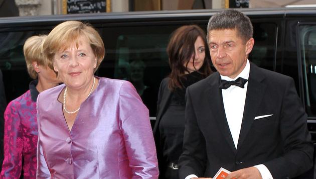 Angela Merkel bei den Salzburger Festspielen im Jahr 2010 (Bild: APA/FRANZ NEUMAYR)