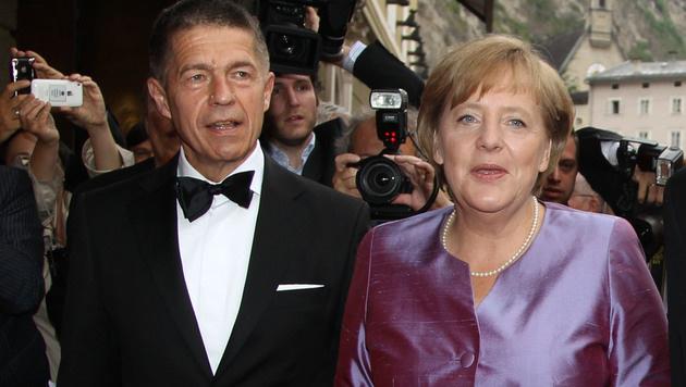 Angela Merkel bei den Salzburger Festspielen im Jahr 2011 (Bild: APA/FRANZ NEUMAYR)