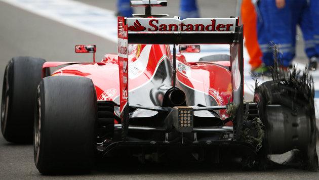 """Vettel: """"Die Qualität der Reifen ist miserabel"""" (Bild: GEPA)"""