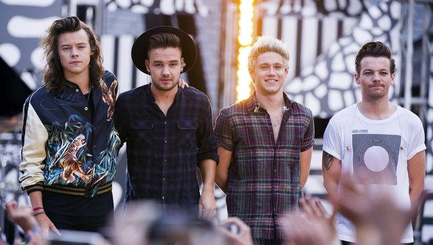 Boyband One Direction legt eine Pause ein (Bild: AP/Charles Sykes)
