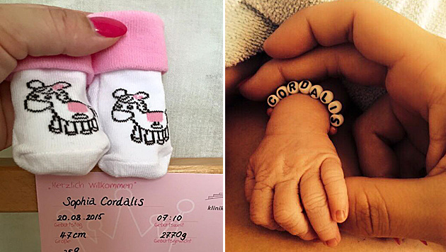 Daniela Katzenberger verrät den Namen ihrer Tochter. (Bild: facebook.com/katzenberger.daniela)