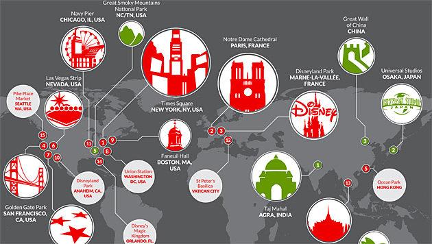 Die 15 gefährlichsten Orte für Mobilgeräte (Bild: Skycure)
