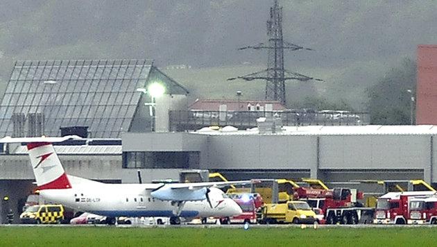 Pilot bei Startversuch mit Segelflieger verletzt (Bild: APA/zeitungsfoto.at (Symbolbild))