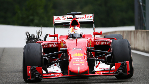 """Vettel sieht rot"" - Pressestimmen zum GP in Spa (Bild: GEPA)"