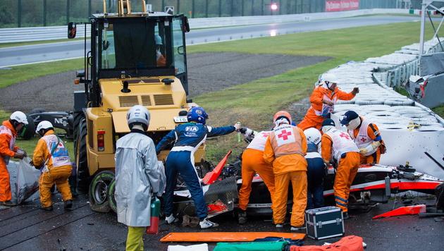 Bianchi-Todesdrama - Familie verklagt die Formel 1 (Bild: APA/EPA/HIROSHI YAMAMURA)