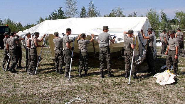 Bundesheer hilft mit mindestens 500 Soldaten aus (Bild: APA/BUNDESHEER/GUNDL)