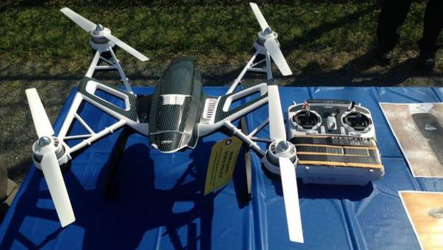 Drohne sollte Drogen und Pornos in Häfn schmuggeln (Bild: news.maryland.gov)