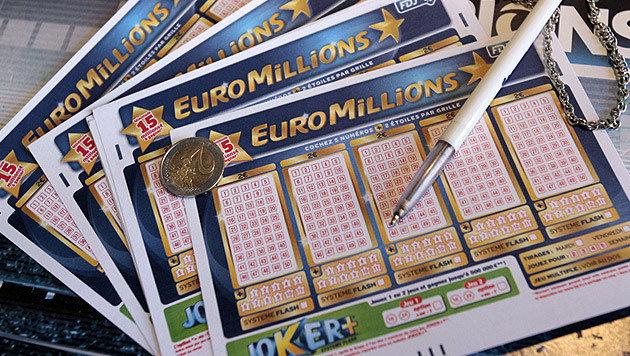 EuroMillionen: Österreicher gewinnt 30,5 Mio. Euro (Bild: AFP)
