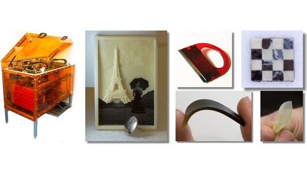 Dies sind die ersten Objekte, die mit dem neuen 3D-Drucker des MIT gefertigt wurden. (Bild: MIT Computational Fabrication Group)