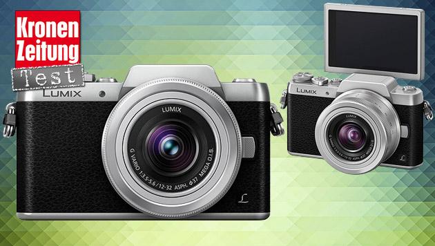 Panasonics Systemkamera-Zwerg Lumix GF7 im Test (Bild: Panasonic, thinkstockphotos.de)