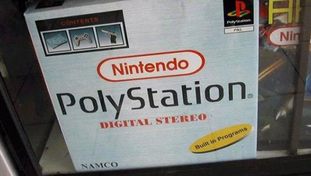 In dieser PolyStation ist einfach alles drin: Nintendo, Sony und Namco. Das ist wahre Vielfalt. (Bild: boredpanda.com)