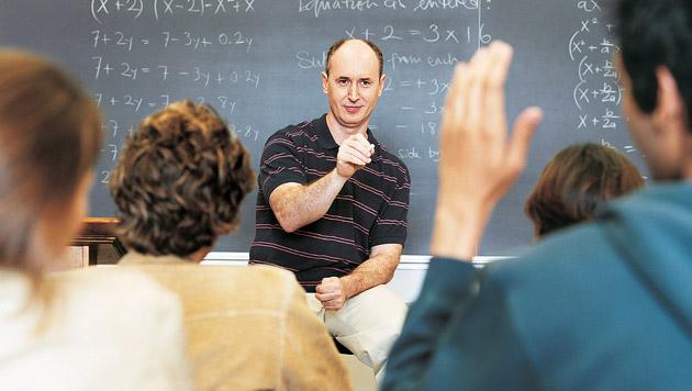 95 Prozent der Lehrer gingen in Frühpension (Bild: thinkstockphotos.de (Symbolbild))