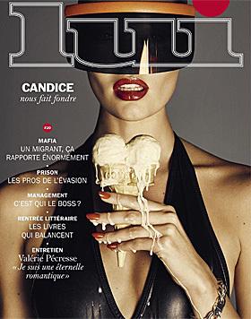 "Candice Swanepoel im ""Lui""-Magazin (Bild: instagram.com/angelcandices)"