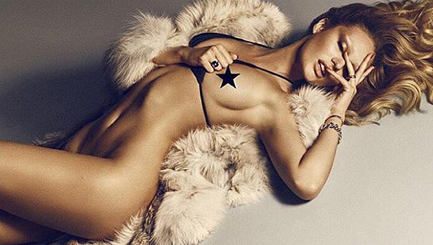 """Candice Swanepoel (fast) nackt im """"Lui""""-Magazin (Bild: instagram.com/angelcandices)"""