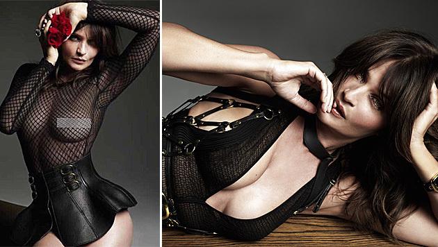 "So sexy zeigt sich Helena Christensen im neuen ""No Tofu""-Magazin. (Bild: instagram.com/djquintero, facebook.com/no.tofu)"