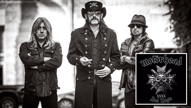 Motörhead: Ein feurig-scharfes Alters-Manifest (Bild: Robert John, UDR Music)