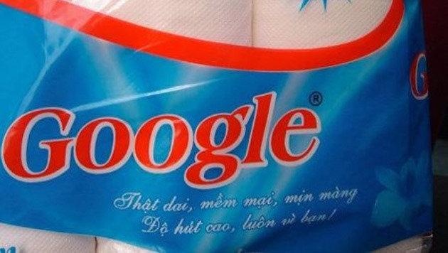 Die Suchmaschine gibt es jetzt auch dreilagig: Auf Hakle folgt Google. (Bild: boredpanda.com)