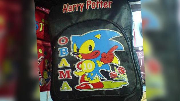 Was hat Segas rasender Videospielheld Sonic mit Harry Potter und Obama zu tun? Wir wissen es nicht. (Bild: facebook.com/photo.php?fbid=1129468430415911&set=p.1)