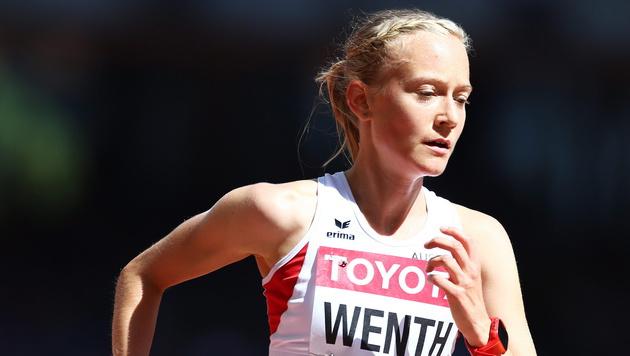 Jenni Wenth im 5000-m-Finale bei WM auf Platz 15 (Bild: APA/EPA/SRDJAN SUKI)