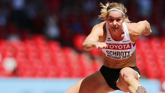 Sensation in Peking! Jenni Wenth im 5000-m-Finale (Bild: APA/EPA/SRDJAN SUKI)