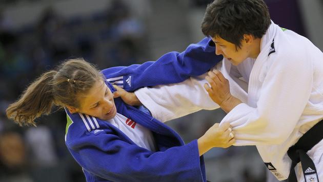 Bernadette Graf verpasst bei Judo-WM Bronze (Bild: APA/EPA/ROBERT GHEMENT)