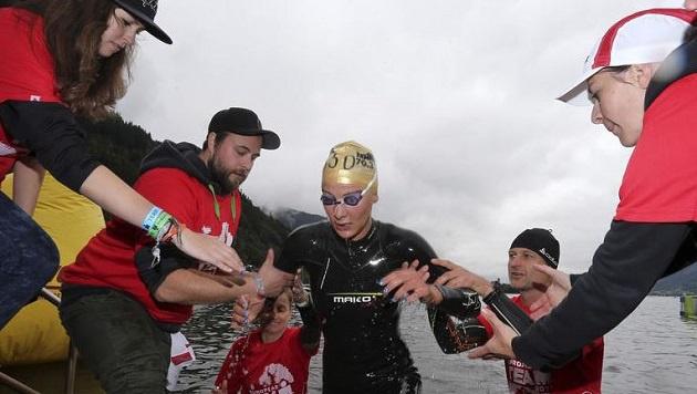 Die Kärntnerin Eva Wutti gewann 2014 den Halb-Ironman Zell-Kaprun. (Bild: Andreas Tröster)