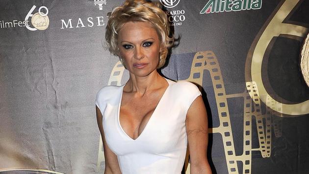 "Pamela Anderson: ""Sah nicht wie ich selbst aus"" (Bild: APA/EPA/CLAUDIO ONORATI)"
