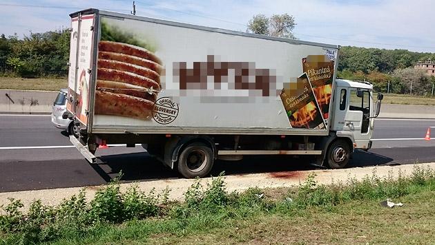 Todes-Lkw auf A4: Verfahren soll in Ungarn laufen (Bild: Christian Schulter)