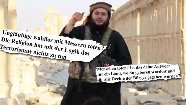 """Vater von Mohamed M. verurteilt """"barbarische Tat"""" (Bild: twitter.com)"""