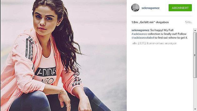 """Cash-Cow Instagram: So viel verdienen die Stars (Bild: instagram.com/selenagomez)"""