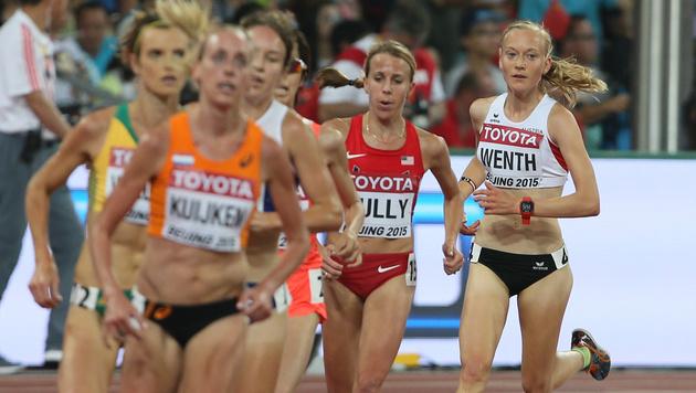 Jenni Wenth im 5000-m-Finale bei WM auf Platz 15 (Bild: GEPA)